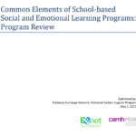SEL program review