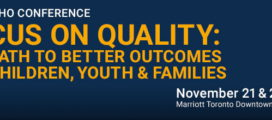 CMHO Conference is on November 21 & 22, 2016