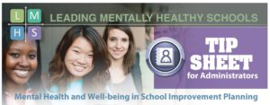LMHS - Mental Health and Well-being in School Improvement Planning