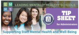 LMHS – Supporting Staff Mental Health and Well-being