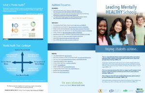 Leading Mentally Healthy Schools Brochure: a quick desk reference for key concepts