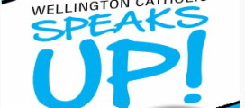 Wellington Catholic Speaks Up logo