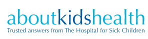 Logo of aboutkidshealth