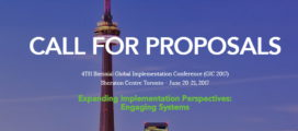 Call for Proposals Conference is June 20 - 21, 2017