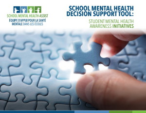 School Mental Health Decision Support Tool – Student Mental Health Awareness Activities