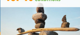 Cover of document depicting rocks balancing on a log